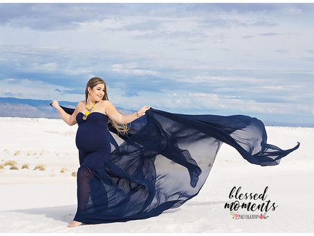 Maternity - Tanya - White Sands