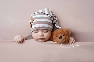 newborn baby with bear.jpg