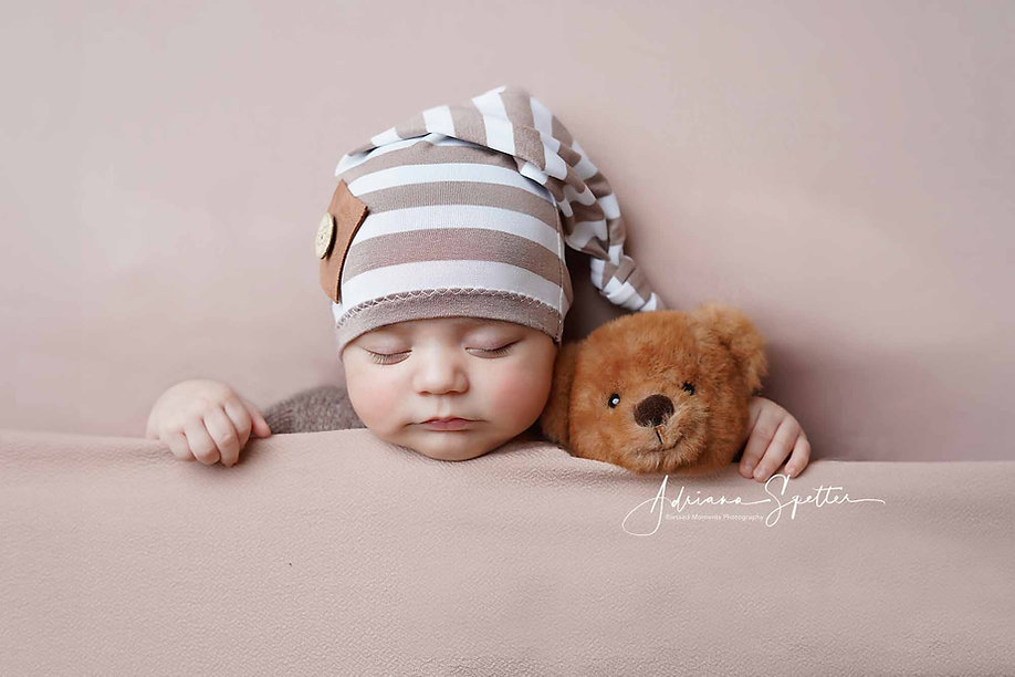 newborn baby with bear.jpg
