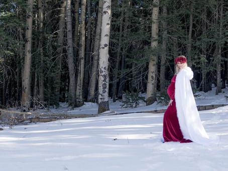 Maternity - Emily - Snow Princess