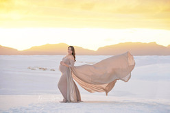 White Sands Sunet Photos