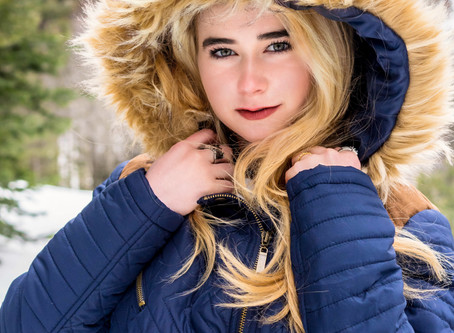 Senior Session - Haleigh - Winter