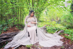 Maternity photos in the mountains