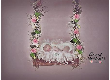 Newborn Photo Session - Kyla