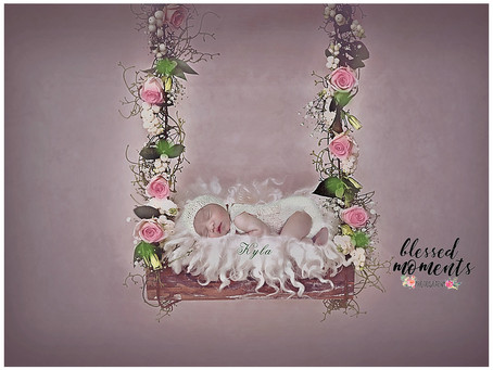 Newborn Photo Session - Kyla