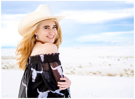 White Sands Texas Girl Photography Session