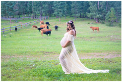 Maternity Photography Lace Gown