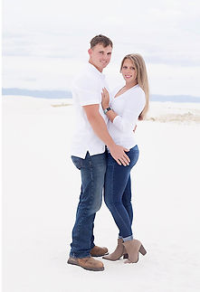 Couple photo at White Sands