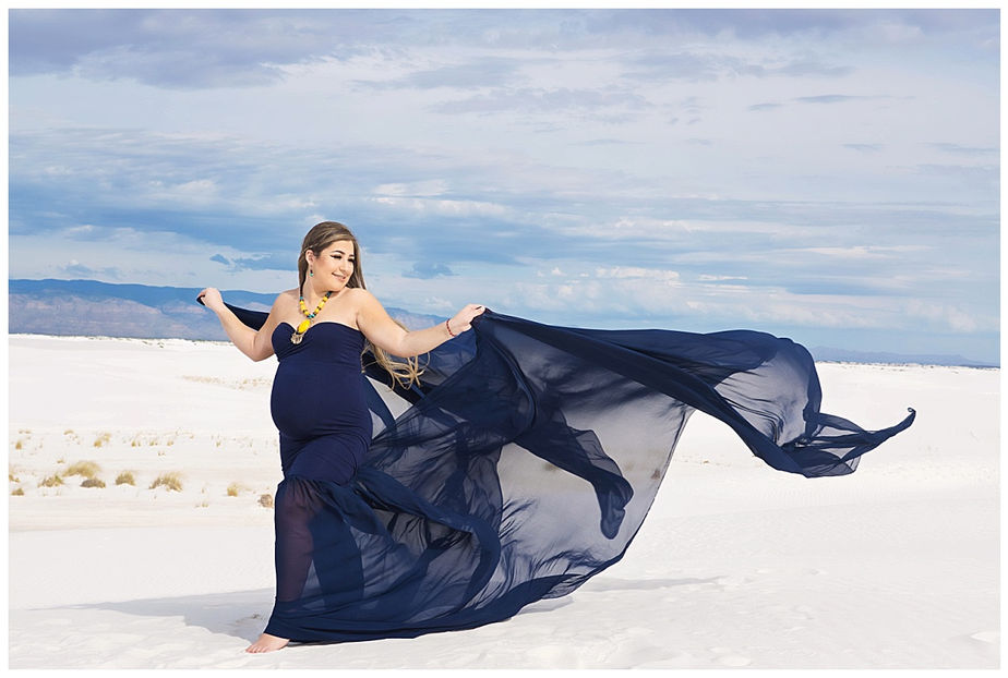 White Sands Maternity Photography