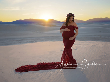 Maternity - Dafne - Creek and White Sands
