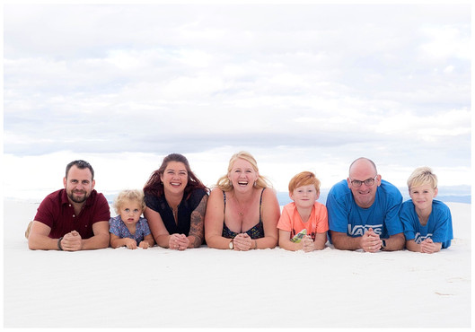 White Sands Family Photography
