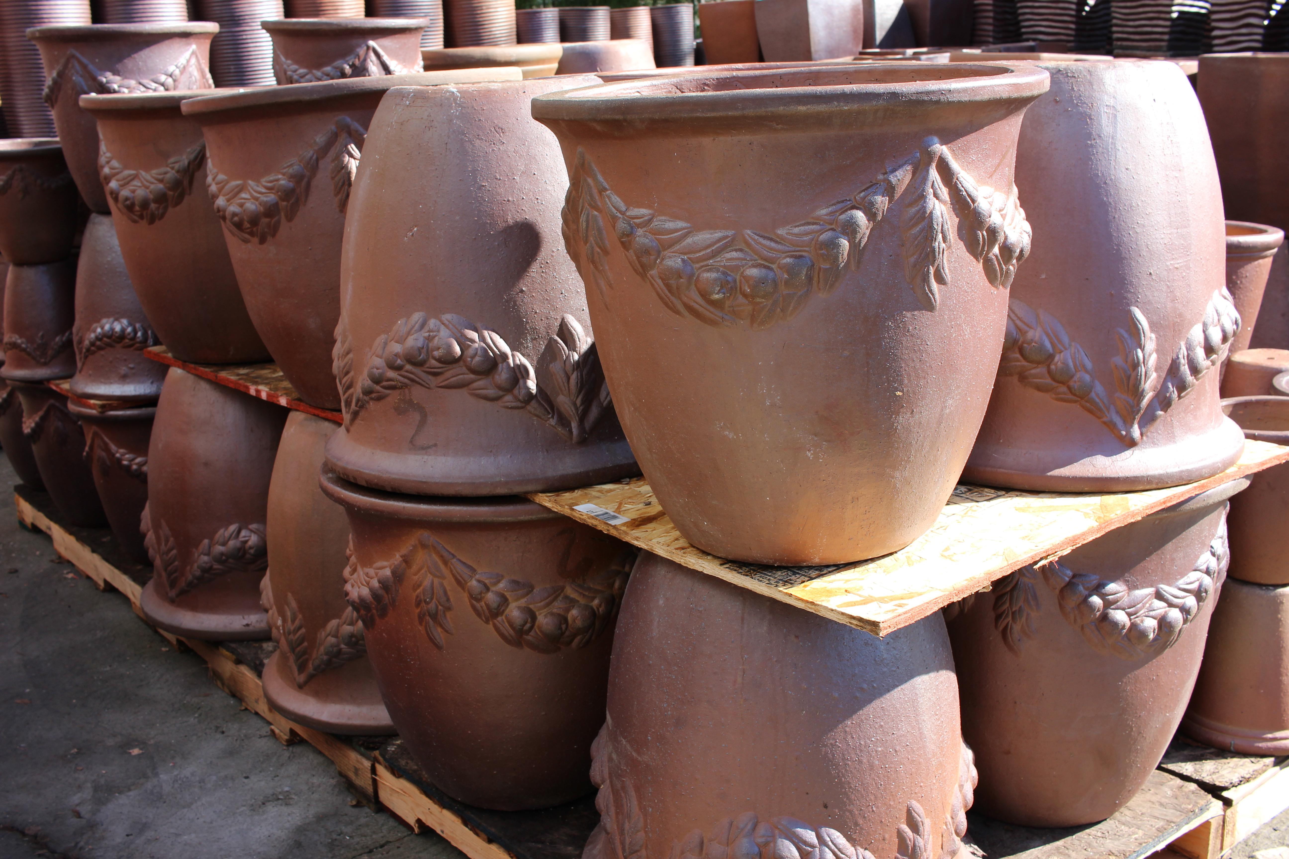 Coconut Flower Pot