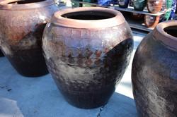Embossed Key Jar