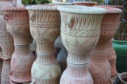 Wheat Vase with Handles