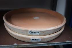 Terra-cotta Round Saucers
