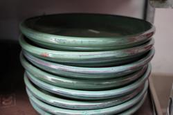 Malaysian Round Saucers