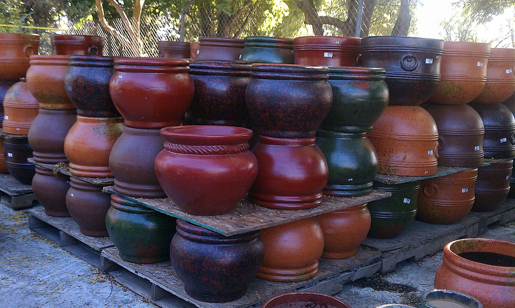 Beautiful Ceramic Planters For Sale Part - 13: Mexican Pottery
