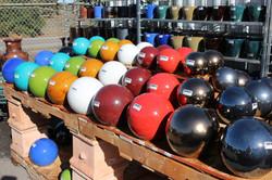 Glazed Ceramic Spheres
