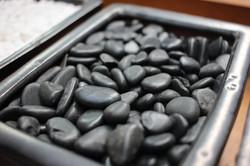 Black Polished Stone 1 - 1.5 cm