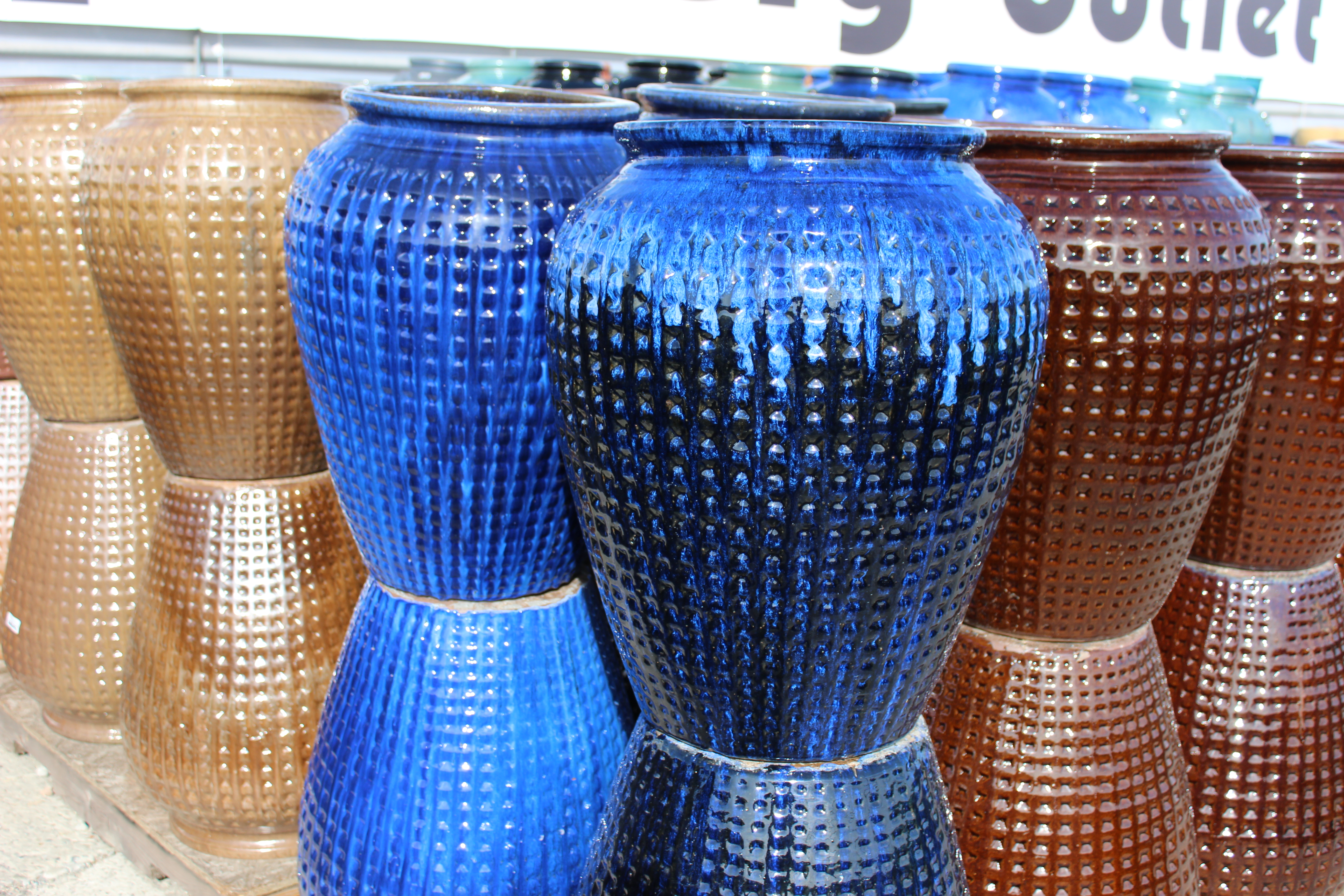 Medium Dimpled Water Jar