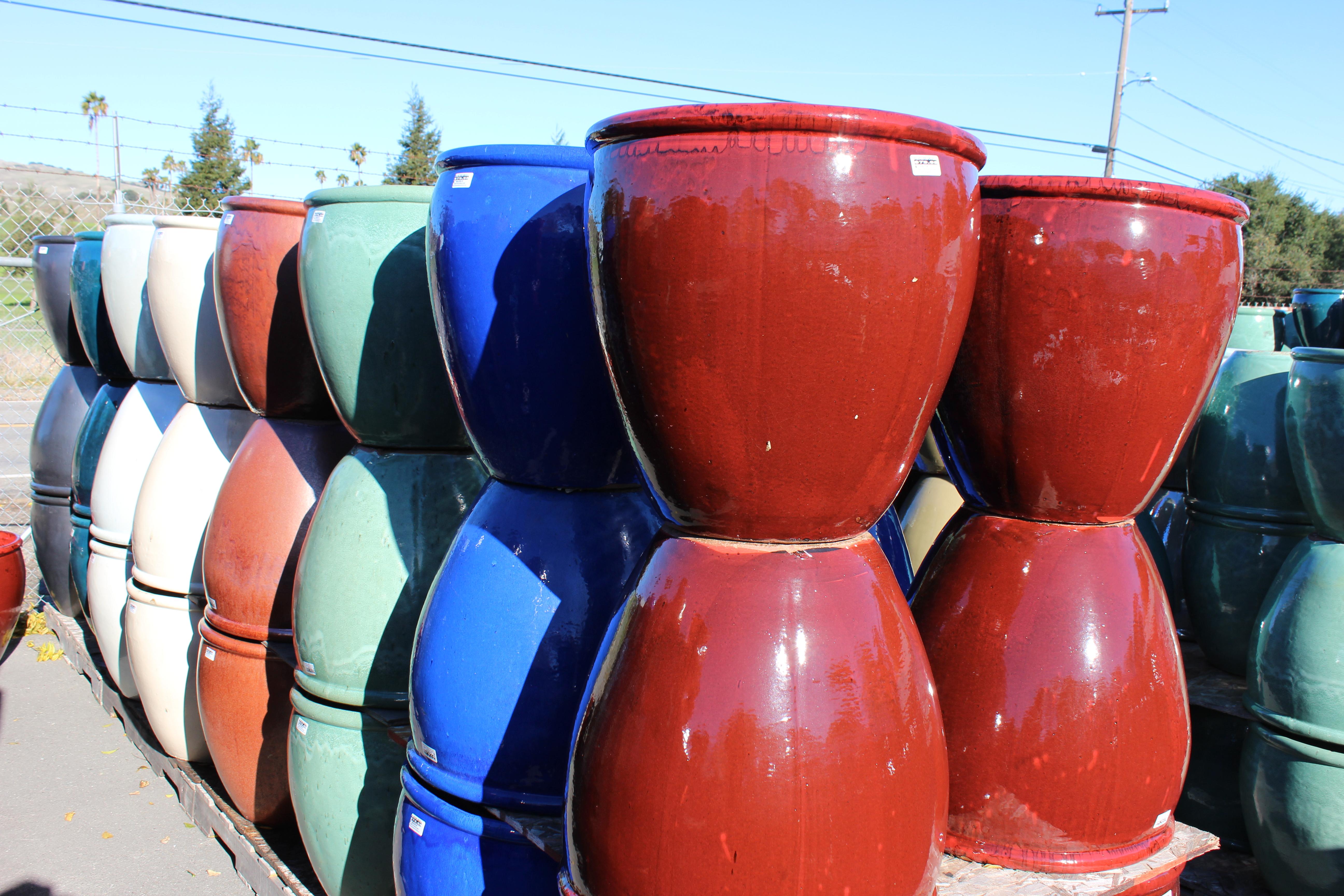 Tall Garden Pot