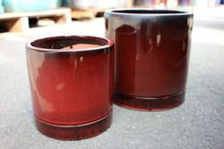 Cylinder Pot (includes saucer)