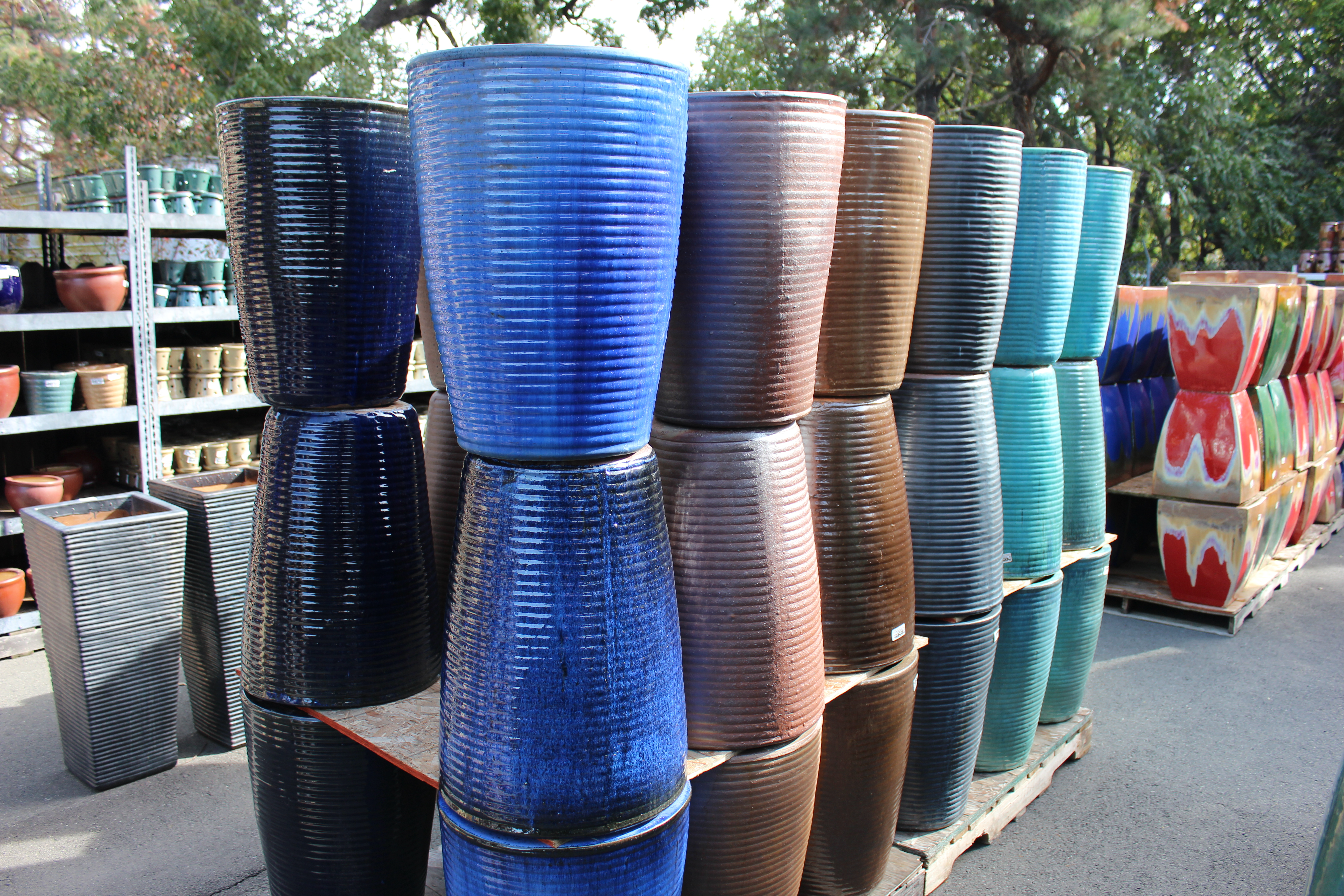 Tall Round Ribbed