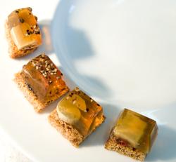 Foie gras encapsulé