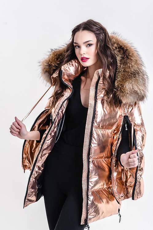 ZIPPER SUPREME GOLDEN ROSE down jacket Standart 17790₽ Midi 19790₽
