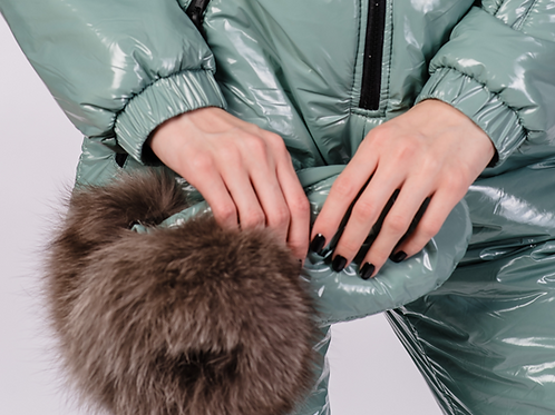 Menthol candy moncler mittens