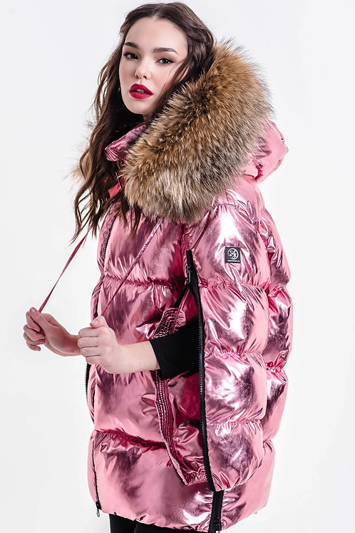 PINK LEMONADE ZIPPER SUPREME down jacket Standart 17790₽ Midi 19790₽