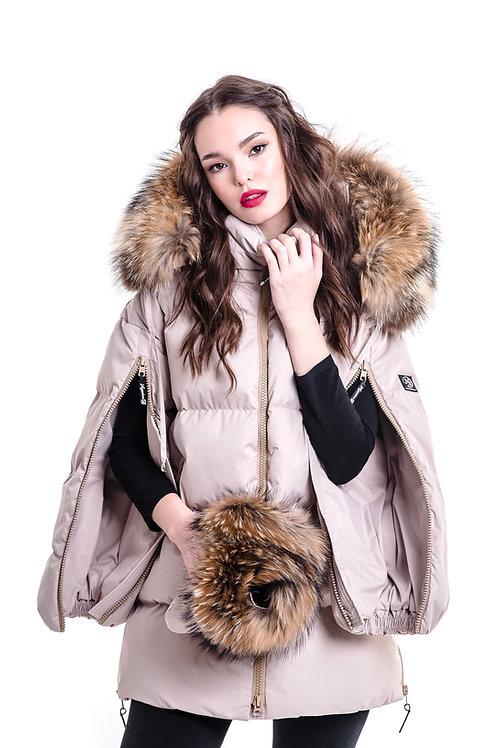 BEIGE NUDE ZIPPER SUPREME down jacket  Standart 17790₽ Midi 19790₽ Maxi