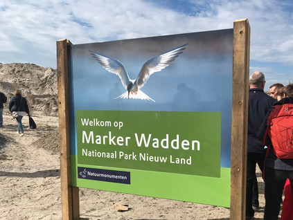 SMARTLAND experiences opening Marker Wadden with pride