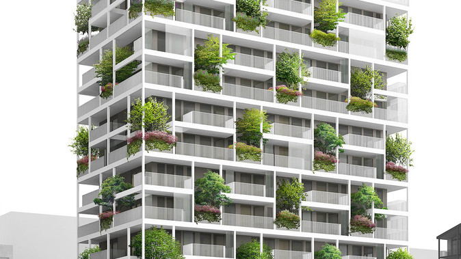 The Vertical Gardens of BSH20A