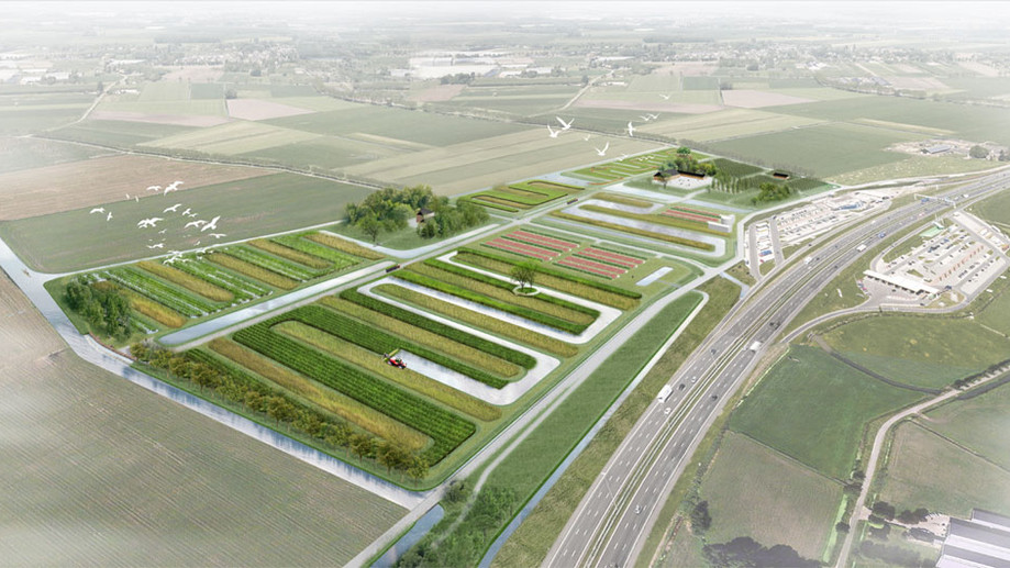 "SMARTLAND designs ""water farm"" for Gelderland"