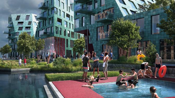 Landscape design and ecology Kavel 42A IJburg