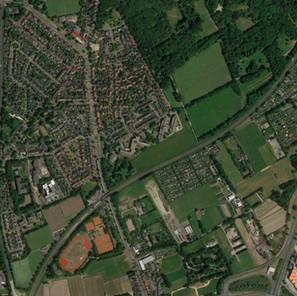 Schetsontwerp zuidoostrand Driehuis