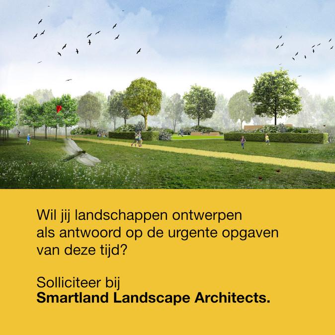 SMARTLAND zoekt tekenaar/ontwerper landschapsarchitectuur