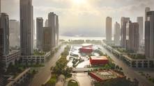 Powerhouse, Benthem Crouwel & Smartland Propose Sponge-Inspired Athlete Village for 2022 Asian G