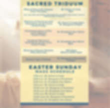 Easter Sunday mass schedule.png