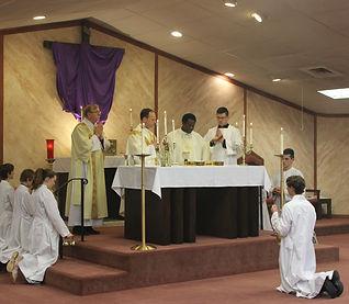 Mass at SSJ