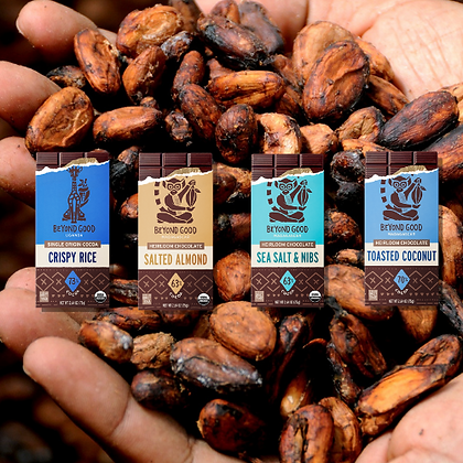 Madécasse Beyond Good  - Selection of 4 - Vegan Pure Chocolate