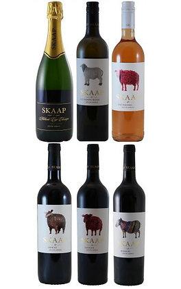 South Africa Skaap Wines set of 6 Tasting Box