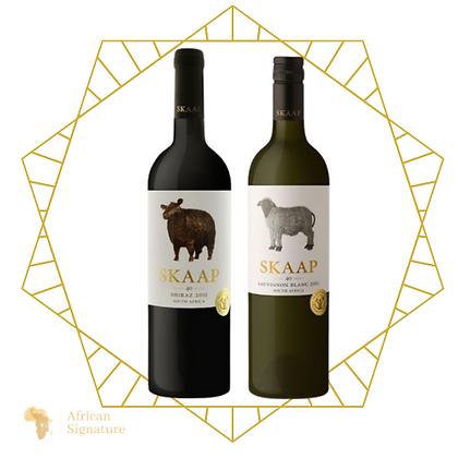 South Africa Skaap Wines set of 2