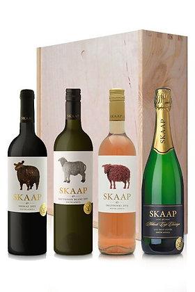 South Africa Skaap Wines set of 4 Tasting Box