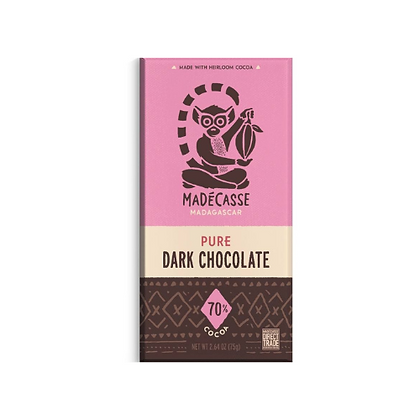 Madécasse Beyond Good – Pure 70% cacao - Vegan Chocolate
