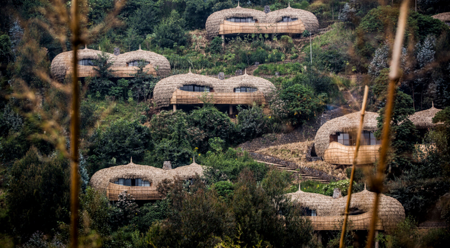 African Travels Rwanda Bisate lodge hill