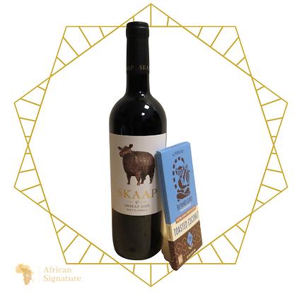 Wine + Choc gift