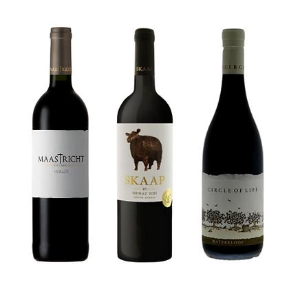 Red wine trio