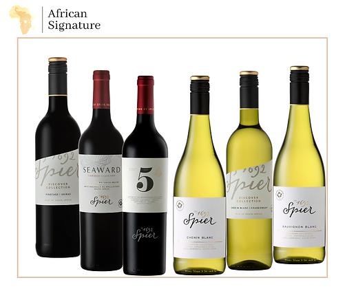 Spier Wines Tasting Box of 6